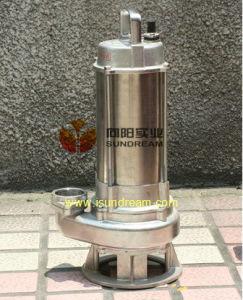 Wq bomba sumergible de acero inoxidable certificado ISO9001