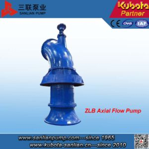 Bomba Axial Flow Vertical da Série Zlb para águas fluviais