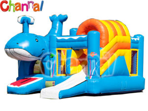Ola Gorila inflable castillo inflable/Combo puente B007
