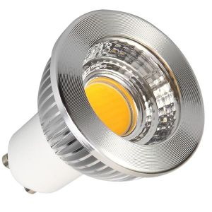 5W 450lm GU10 Warm White 2700k COB LED Spotlight
