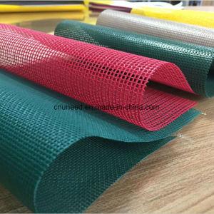 Haute résistance Polyester enduit PVC Bâche tissu à mailles
