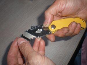 Faltendes Messer Aluminium-Legierung Material (NC1580)