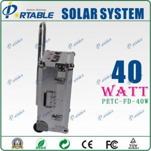 Portátil 40W Sistema de Energía Solar (PETC-FD-40W)