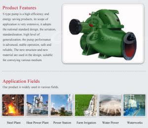 Boîtier de fractionnement horizontale de la pompe pour la conservation de l'eau et des Mines