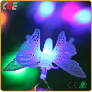 O LED de luz de Natal de LED Butterfly String de caracteres de Piscar Luzes Luzes de decoração do quarto estrelado de luzes de Natal