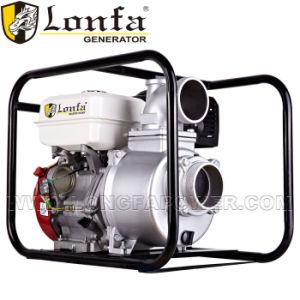 Portable 4 pulgadas de gasolina bomba de agua de riego agrícola