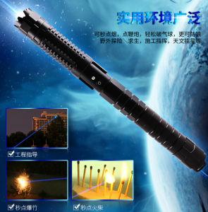Multi-Stall высокая мощность 5 Вт Синий лазер точки фонарик (SYSG-258)