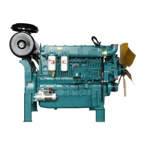 Venta caliente personalizadas de color de 6 cilindros refrigerado por agua del motor Diesel 4 tiempos para el Diesel Grupos Electrógenos Grupos Electrógenos, con mejor calidad y certificado CE