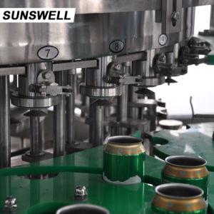 Volledige Automatische Sprankelende het Vullen van het Blik van de Drank Machine