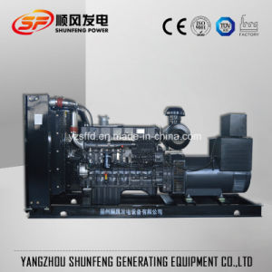 250квт электрической безопасности Китая Shangchai Water-Cooled электроэнергии дизельного генератора