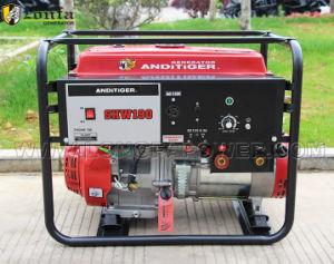 Gx390 de Elektrische Generator van het Lassen van de Benzine 5kw/Kvaw van het Begin Shw190 draagbare