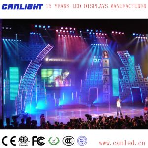 P РП3.91 полноцветный светодиодный дисплей для установки внутри помещений в аренду на этапе