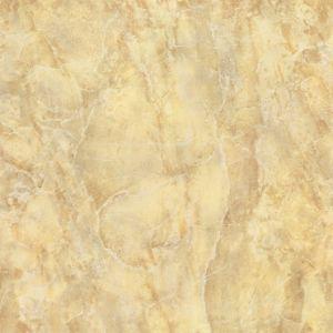 60X60 de binnenlandse Tegel van het Porselein van de Bevloering Gele Marmeren Volledige Opgepoetste Verglaasde