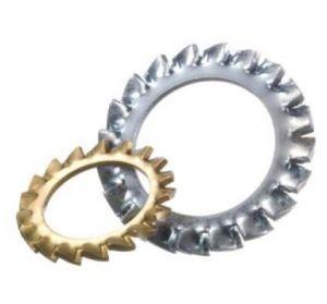 En acier inoxydable dents interne/externe rondelles éventail DIN6798 un