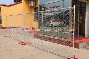 6つのFT*12 FTのアメリカの標準建築現場の電流を通された塀のパネル(XMR17)