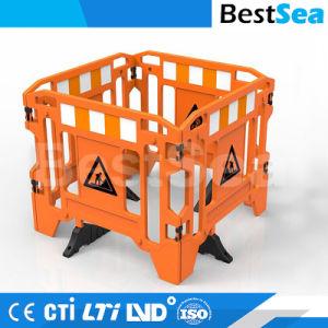 HDPEのプラスチック道のゲート作業障壁