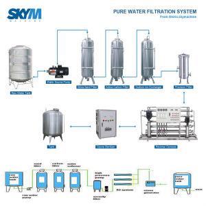 Automatische 3 in-1 Zuivere het Vullen van het Water Monoblock Machine