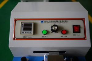 Probador de la durabilidad de impresión de tinta