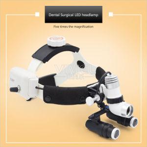 ヘッドバンド5.0Xの双眼歯科ルーペ外科ヘッドライト