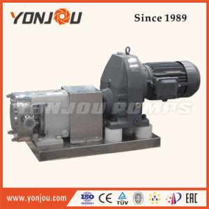 Pompa della crema del cioccolato del rotore dell'acciaio inossidabile del commestibile con il motore elettrico