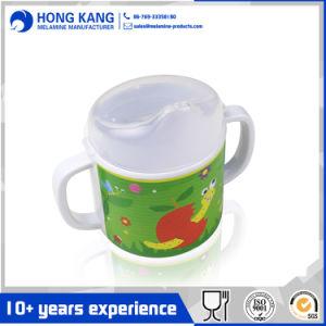 Haltbares Gebrauch-Melamin gedruckter trinkender Kind-Becher