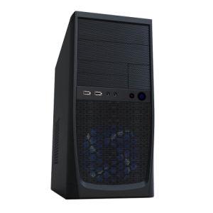 컴퓨터 상자 Matx 의 메시 전면 패널과 더불어 탁상용 탑,