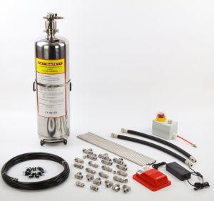 Proteção de cozinha Chemica Úmida de Sistemas de Supressão de Incêndio Automático