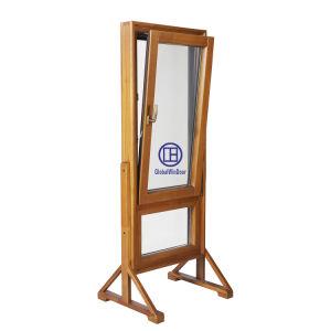 Le bois en aluminium/aluminium Le verre trempé Inclinaison et tour de l'intérieur de la fenêtre de sécurité