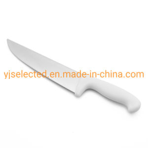 8 pouces de couteau de boucher à lame droite extrêmement tranchant