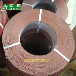 Grãos de madeira /cor sólida/ brilhante de alta Customized novo material PVC Orladora