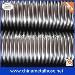 Tubo flessibile ondulato personalizzato dell'acciaio inossidabile di formato