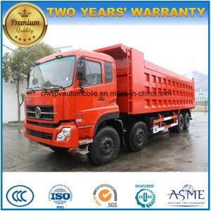 Capienza pesante del ribaltatore degli assi di Dongfeng 8X4 4 40 tonnellate di autocarro con cassone ribaltabile