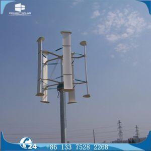 100W/300W/600W/10kw/20kw à axe vertical du générateur de Maglev moulin à vent tour éolienne