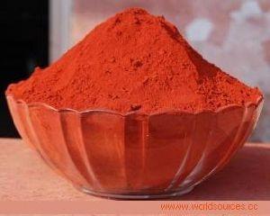 Oxyde van het Ijzer van het Poeder van het Pigment van het Oxyde van het ijzer het Oranje met Goede Prestaties