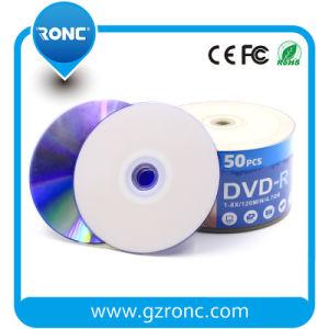 가득 차있는 잉크 제트 인쇄할 수 있는 DVD-R/DVD+R 4.7GB 16X