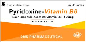 La médecine occidentale de la vitamine B6 Facroty BPF d'injection