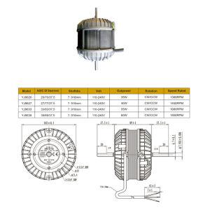 Polo sombreado de alta calidad del aire acondicionado Motor El motor del ventilador
