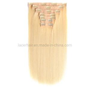 Het natuurlijke Maagdelijke Braziliaanse Haar van de Klem van het Menselijke Haar van Uitbreiding Goedkope 100% van het Haar van Remy van de Kwaliteit