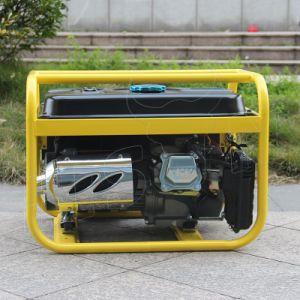 バイソン((e) 2kw 2kVA中国) BS2500uの長期間の時間工場価格ガソリン発電機のベテランの製造者のバックアップジェネレータ