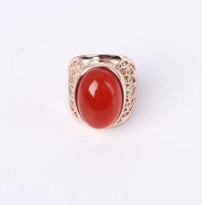 e47218c5278b Bisutería Anillo con piedra de cristal de color rojo – Bisutería ...