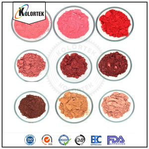 Mineraal Lipcolor Pigment, het Pigment van de Lippenstift met het Natuurlijke Poeder van het Mica