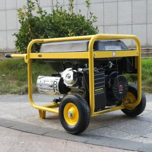 Bisonte (Cina) BS6500u (H) prezzo portatile del generatore della benzina 5kVA di inizio di Electirc della famiglia di 5kw 188f per la vendita calda