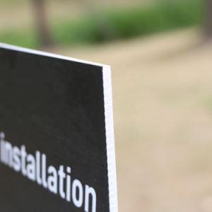 L'impression UV personnalisé de produits en plastique durable Feuille en PVC