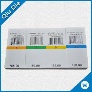 Etiquetas de logotipo personalizado 18PT 350 g de cartón colgar la ropa de etiqueta para