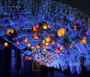 LED-kommerzielle dekorative Weihnachtsbaum-Lichtertwinkle-Netz-Lichter