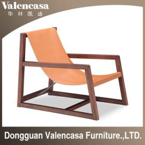 ホームホテルの喫茶店のための余暇の椅子の純木の椅子の革張りのいす