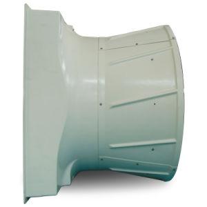 ventilatore del cono dello scarico della parete della trasmissione a cinghia della vetroresina 52000CMH