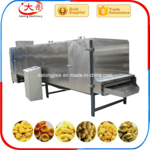 Puff aperitivos de maíz de la línea de producción de alimentos Aperitivos cereales de la máquina de extrusión