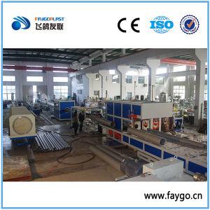 Línea de producción de tubos de agua de PVC