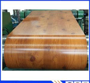 Lamiere di acciaio di legno materiali decorative del rivestimento della Camera in bobine PPGI